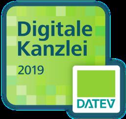 Datev 2019 Digitale Kanzlei Badge