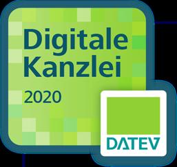 Digitale Kanzlei Badge 2020